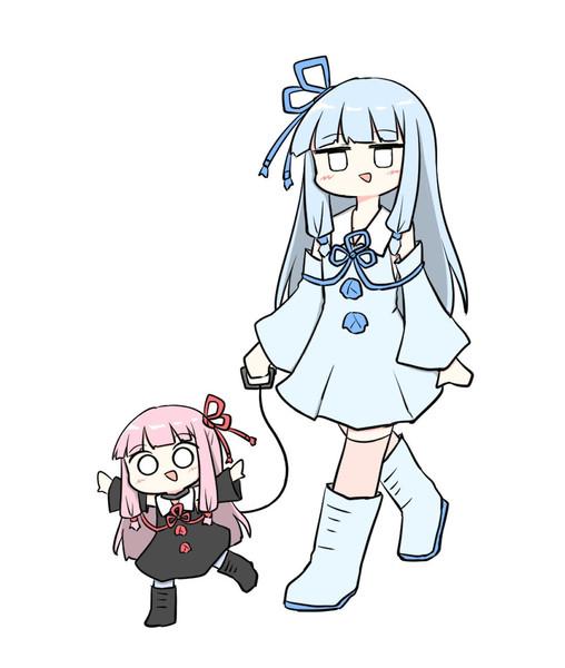 散歩する琴葉姉妹
