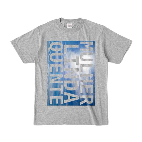 Tシャツ   杢グレー   M☆L☆Q_Sky