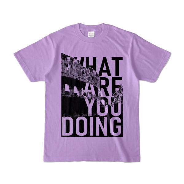 Tシャツ | ライトパープル | 何してるColosseo