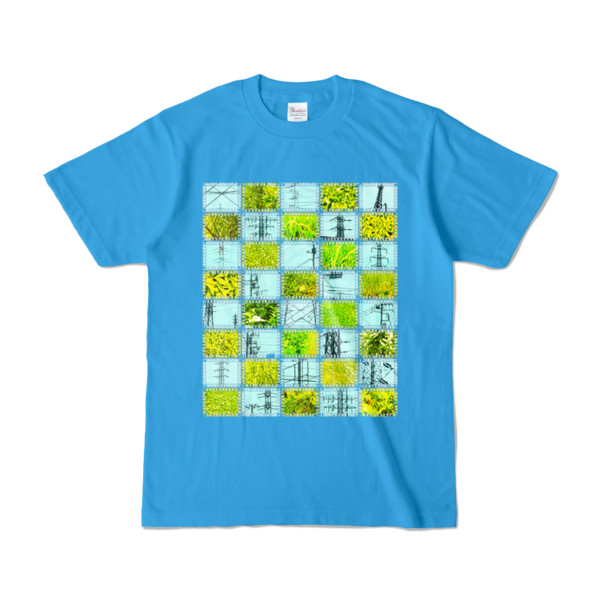Tシャツ | ターコイズ | Steel20_and_Grass20