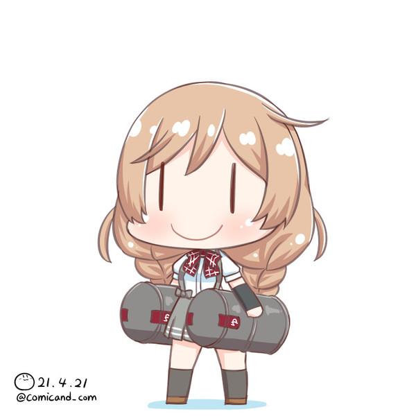 峯雲 艦これワンドロ 210412