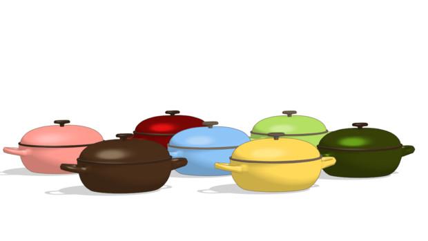 楕円型の鍋