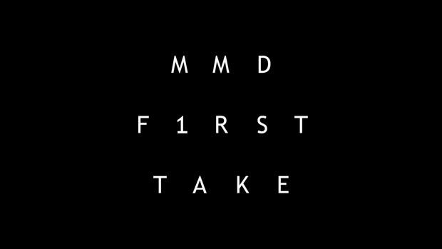 MMD専用 某一発撮り風動画になる素材