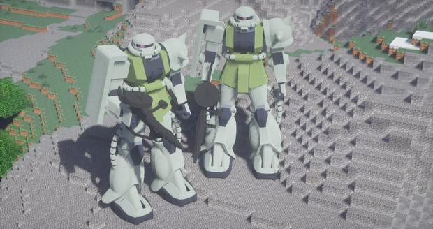【Minecraft】シャア少佐だって戦場の戦いで勝って出世したんだ!【JointBlock】