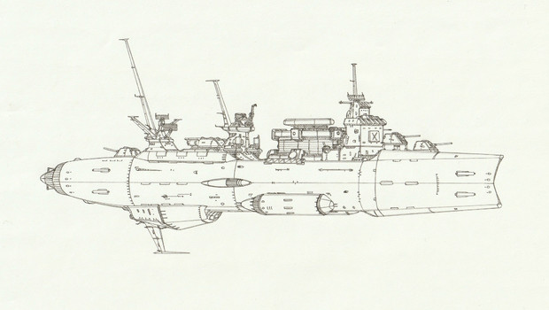 多目的実験駆逐艦エルドリッジ「自作艦」
