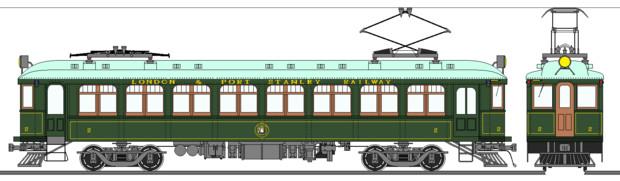 ロンドン&ポートスタンリー鉄道2号電車