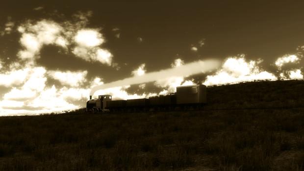 在りし日の貨物列車