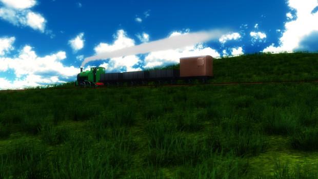 在りし日の貨物列車(カラー版)
