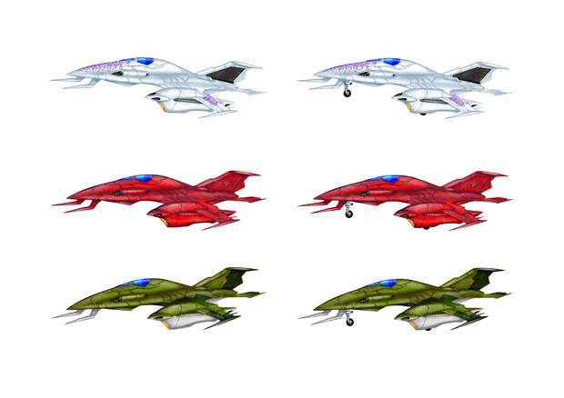 ガミラス格闘戦闘機ツヴァルケ
