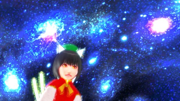 【そばかす式MMD】宇宙橙