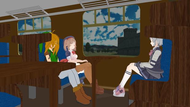 【リベルニア鉄道】ちょっと隣町まで