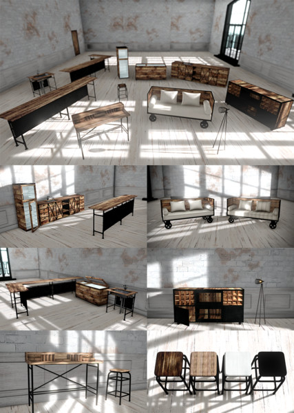 【MMD-OMF11】家具詰め7