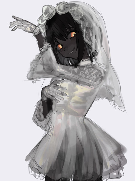 貴方には白が良くお似合いですよ。王女様。