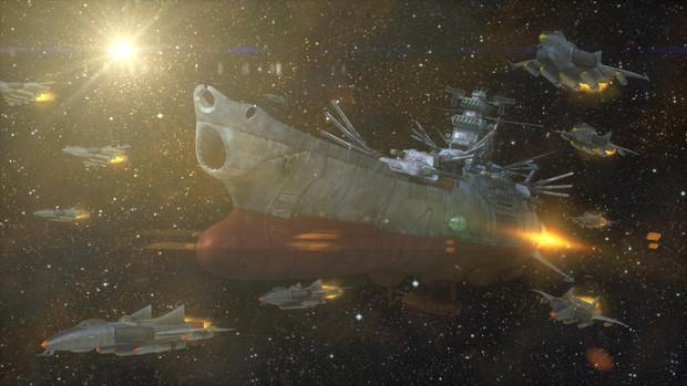 自作宇宙戦艦ヤマトのUHD壁紙