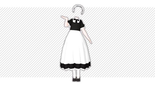 メイドさん風衣装。