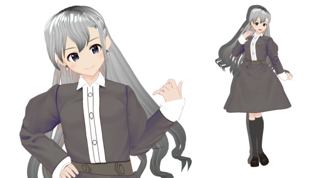 【MMDモデル配布あり】久川颯を配布します