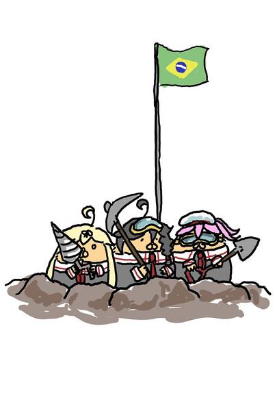 掘りすぎたハム達