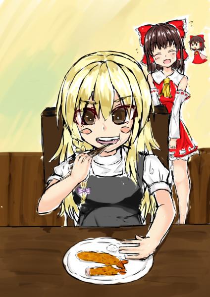 エビフライを食べるUDK姉貴.study