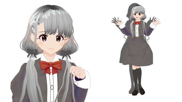 【MMDモデル配布あり】久川凪を配布します