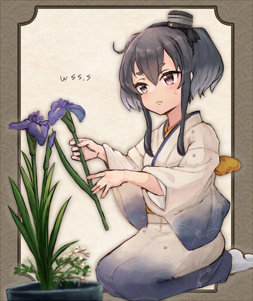 お花と時津風
