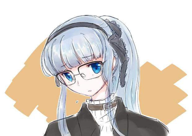 ポニテ眼鏡レティちゃん