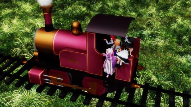 魔法使いたちと魔法の機関車その2