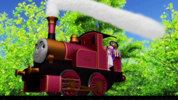 魔法使いたちと魔法の機関車その3