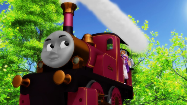 魔法使いたちと魔法の機関車その5