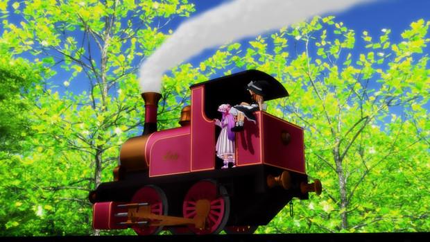 魔法使いたちと魔法の機関車その6