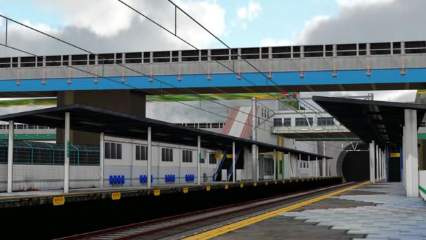 【ステージ配布】ウネノ駅