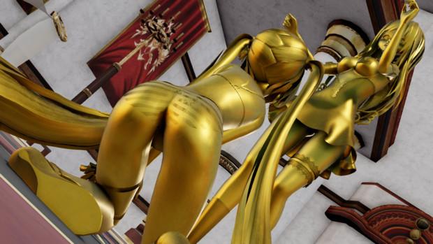 【めんぼう式まつり2021】黄金の像(アニメーション)