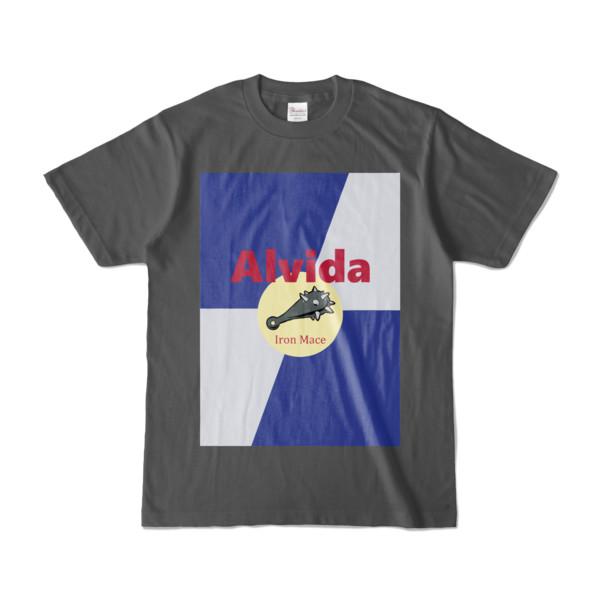 Tシャツ | チャコール | Alvida_ENERGY☆Bull