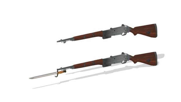 伍長式試製自動小銃乙型 ver1.00配布