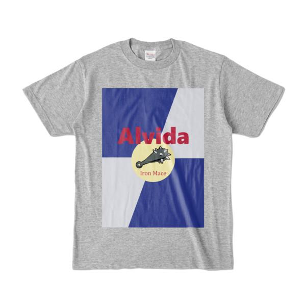 Tシャツ | 杢グレー | Alvida_ENERGY☆Bull