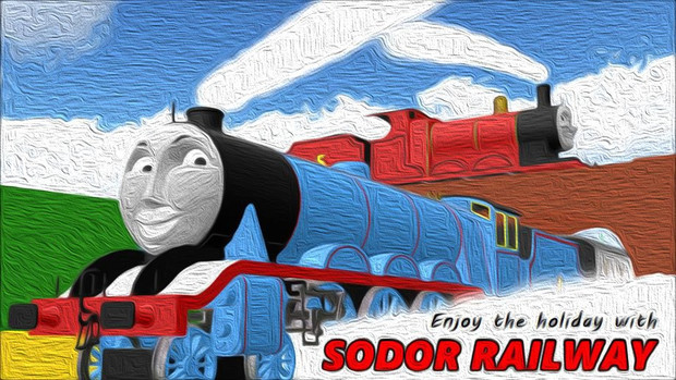 Enjoy the holiday with SODOR RAILWAY