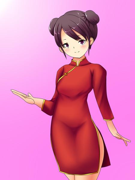 チャイナドレスのお姉さん