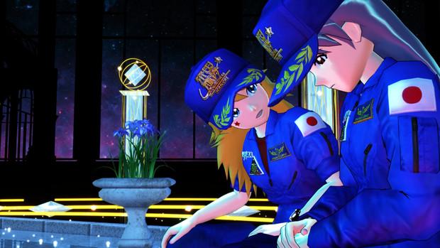 【スターラスターガール】展望台の美希と千早