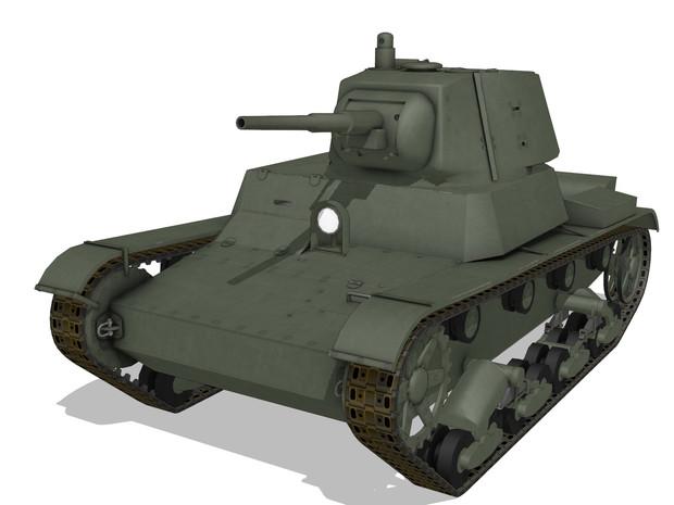 【MMDモデル配布】 T-26軽戦車(1939年型)