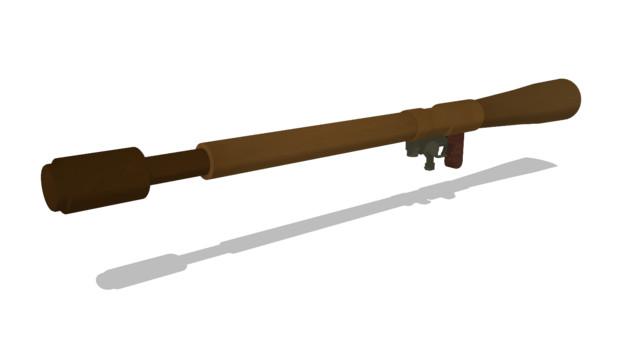 伍長式試製五式四十五粍簡易無反動砲 ver1.00 配布