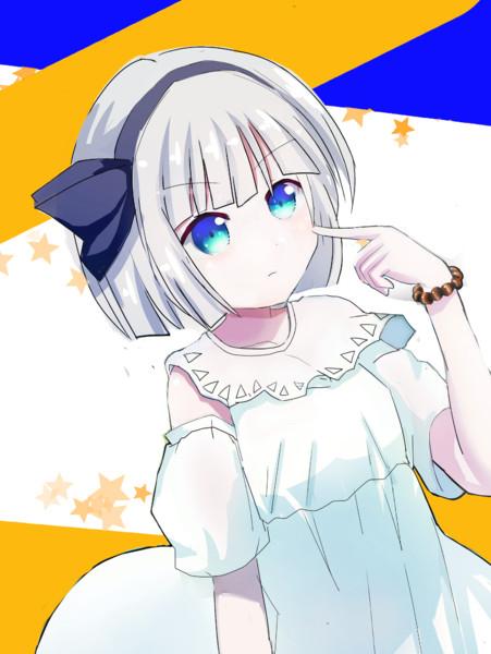 白ワンピ妖夢ちゃん