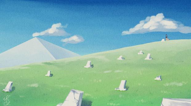 石碑がいっぱい