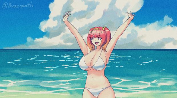 海だーーーっっ!!!