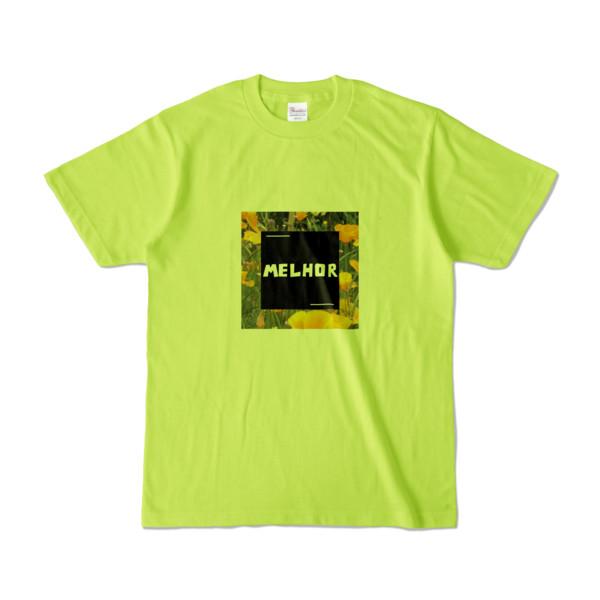 Tシャツ | ライトグリーン | MELHOR☆Flower_Square