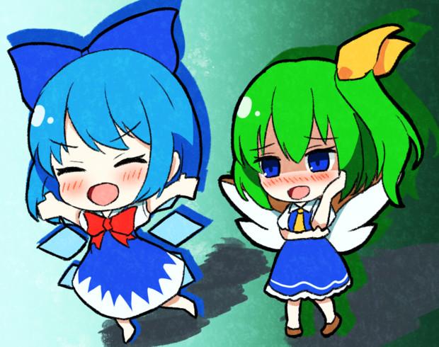 仲良し 2人の妖精!