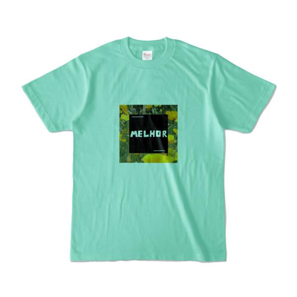 Tシャツ   アイスグリーン   MELHOR☆Flower_Square
