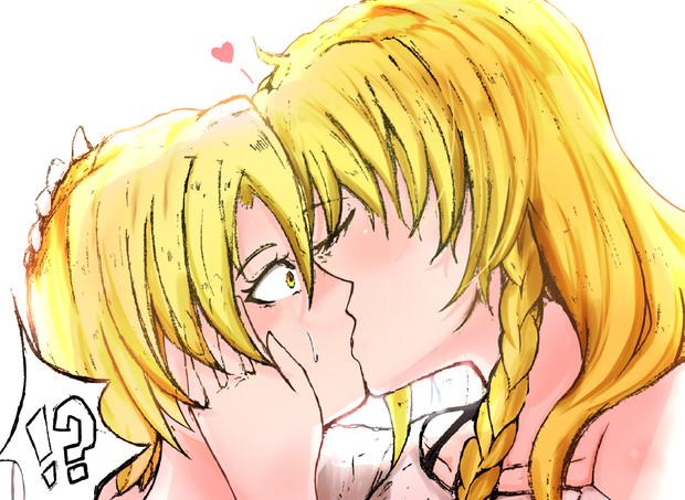 キスするMZRI