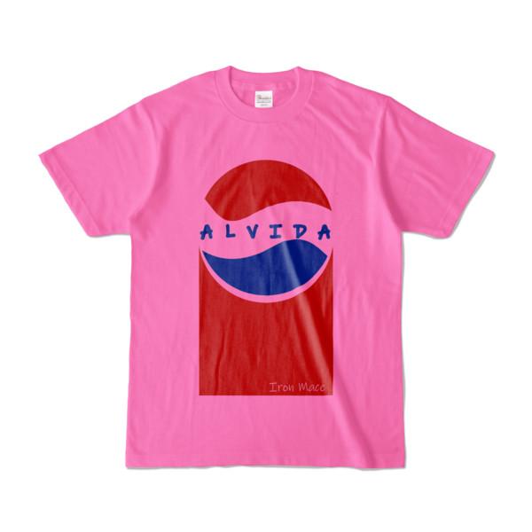 Tシャツ | ピンク | Alvida_Cola☆Drink