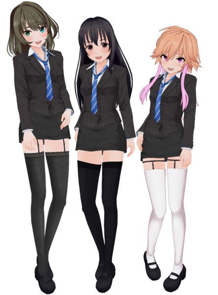 ギザ歯なカッコイイアイドル三人組