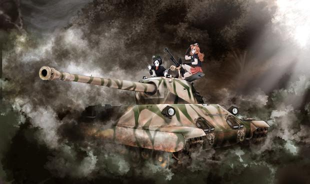 WoTゆっくり実況動画にて使用した戦車絵 CarroP.88