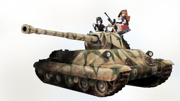 WoTゆっくり実況動画にて使用した戦車(背景なし)